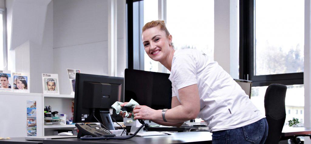 Die Heinzelmännchen - Leistungen - Büroreinigung